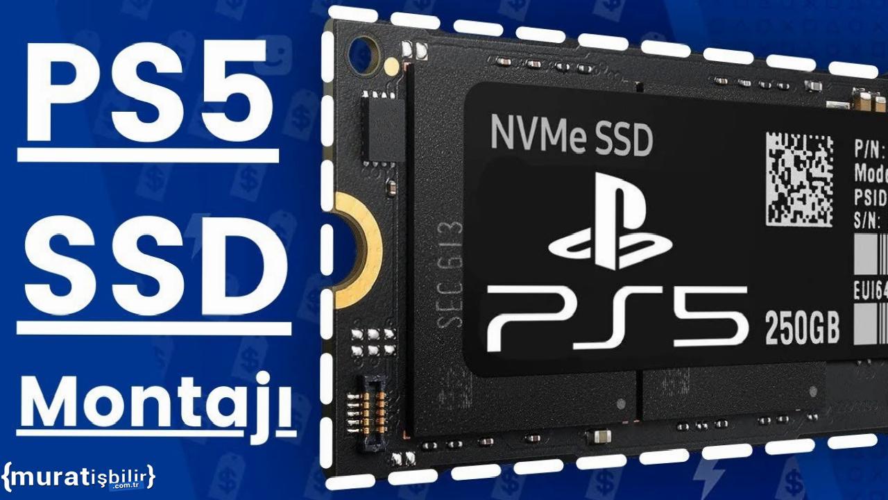 PlayStation 5 SSD Takma Rehberi