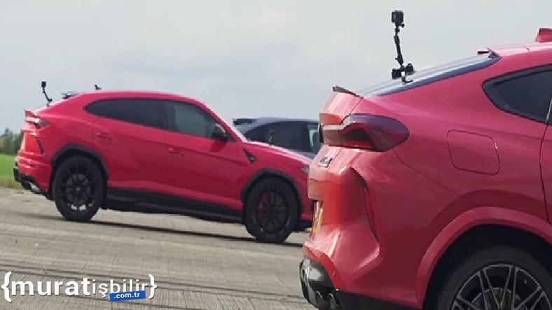 Porsche, Lamborghini, BMW, Jeep ve Tesla'nın Drag Yarışı