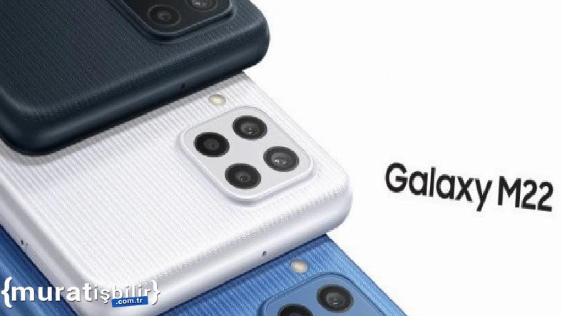 Samsung Galaxy M22 Duyuruldu: İşte Özellikleri
