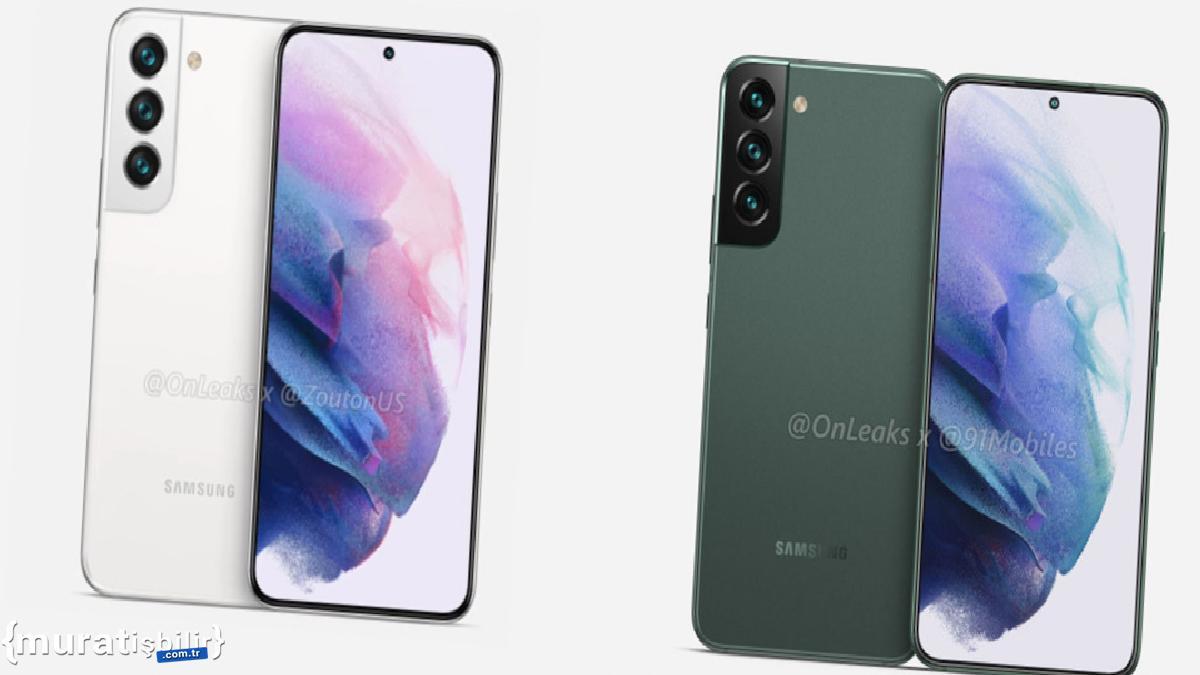 Samsung Galaxy S22 ve Galaxy S22 Plus Tasarımları Sızdırıldı