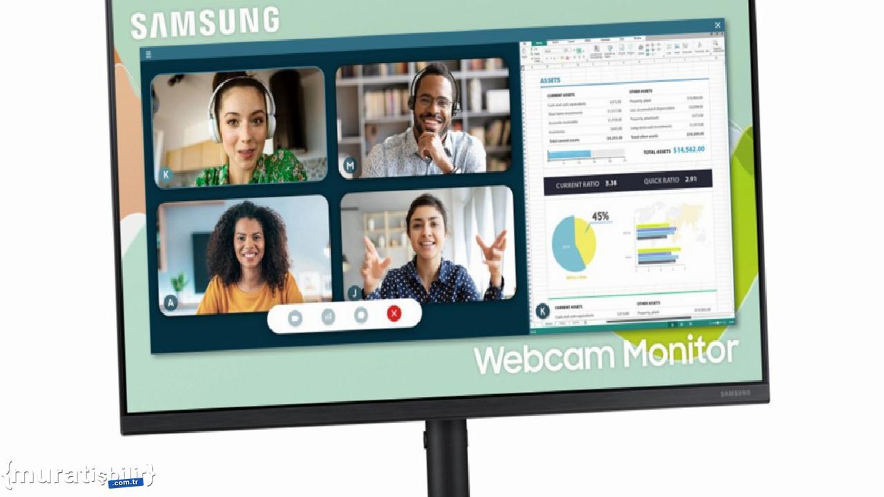 Samsung Webcam Monitor S4 Duyuruldu