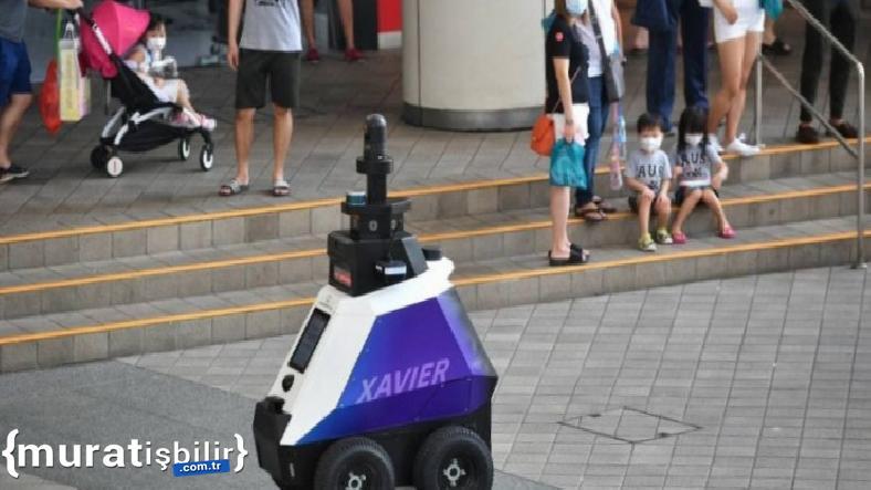 Singapur'un Asayişinden Robotlar Sorumlu Olacak
