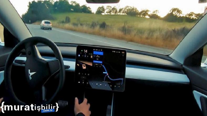 Tesla'nın Tam Otonom Sürüş'ünün Beta Sürümü Yayınlandı