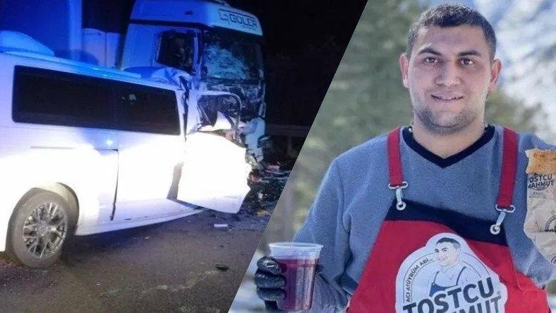 Tostçu Mahmut, Trafik Kazasında Hayatını Kaybetti