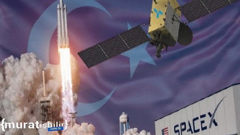 Türksat 6A'yı Uzaya SpaceX Fırlatacak