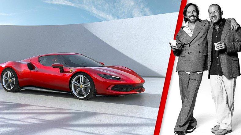 Unutulmaz Apple Tasarımcısı Jony Ive Ferrari ile Anlaştı