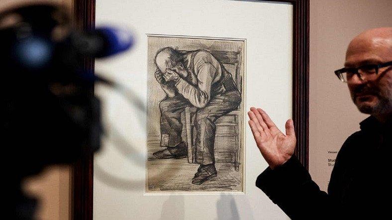 Van Gogh'un Yeni Keşfedilen Çizimi İlk Kez Sergilenecek