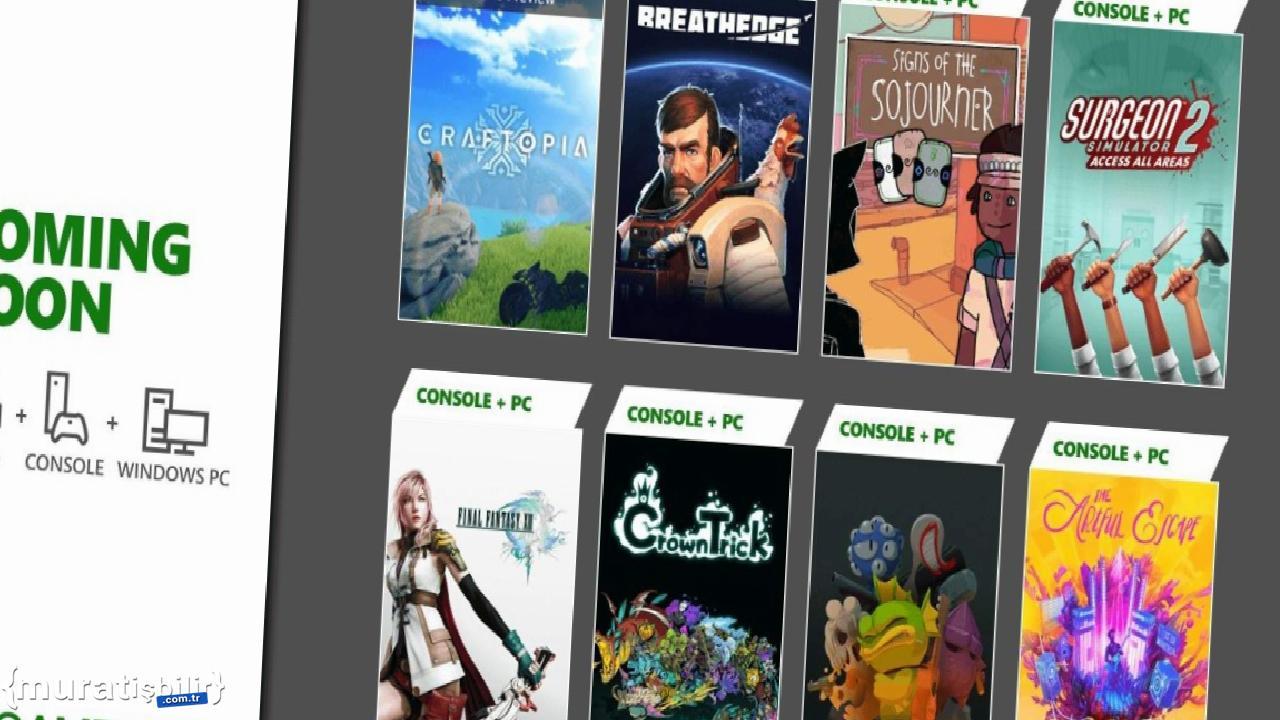Xbox Game Pass Eylül 2021 İlk Dalga Oyunları Duyuruldu