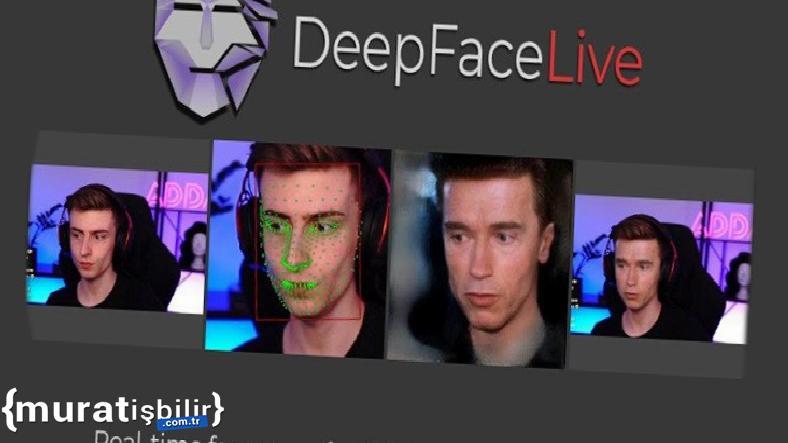 Yayıncıların Yüzünü Çekim Sırasında Değiştiren DeepFaceLive