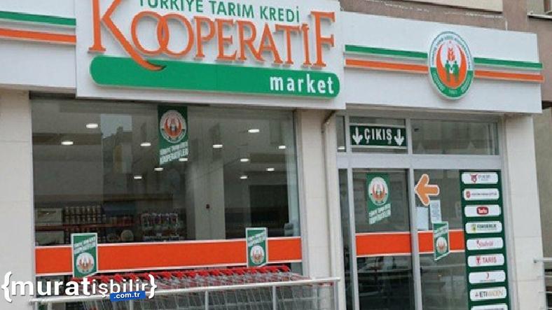 1000 Adet Tarım Kredi Kooperatif Marketi Açılacak