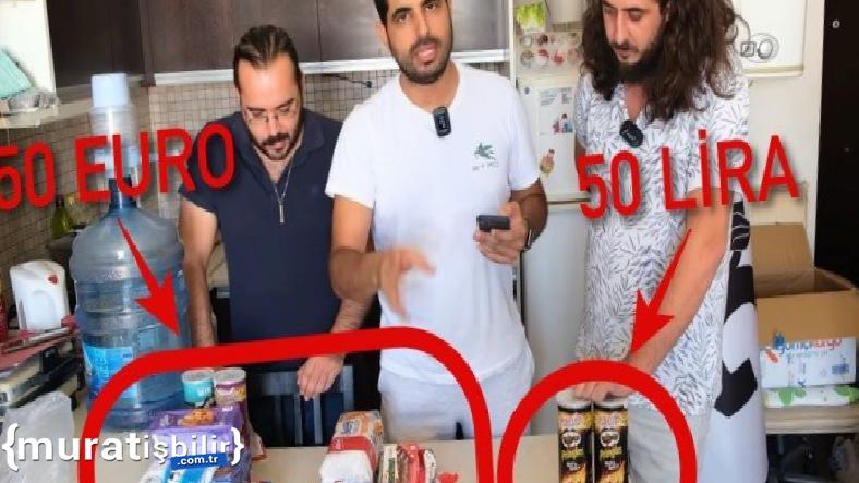 50 Euro ile 50 TL'nin Karşılaştırıldığı Viral Video