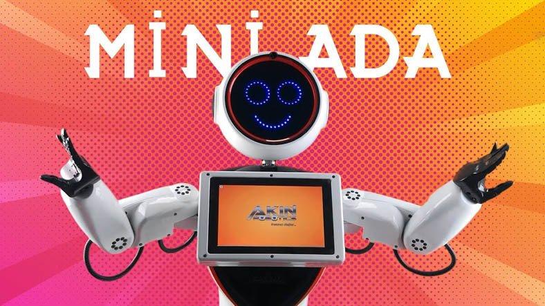 Akınrobotics'in İnsansı Robotu Mini Ada Satışa Sunuldu