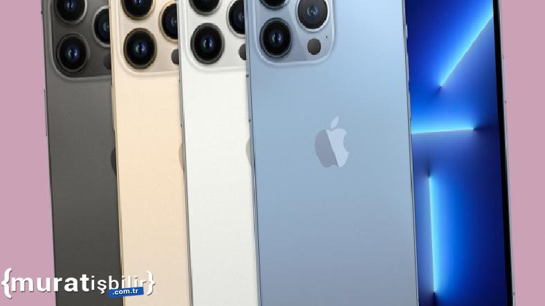 Apple'ın iPhone 13 Pro'yu Ne Kadara Ürettiği Belli Oldu