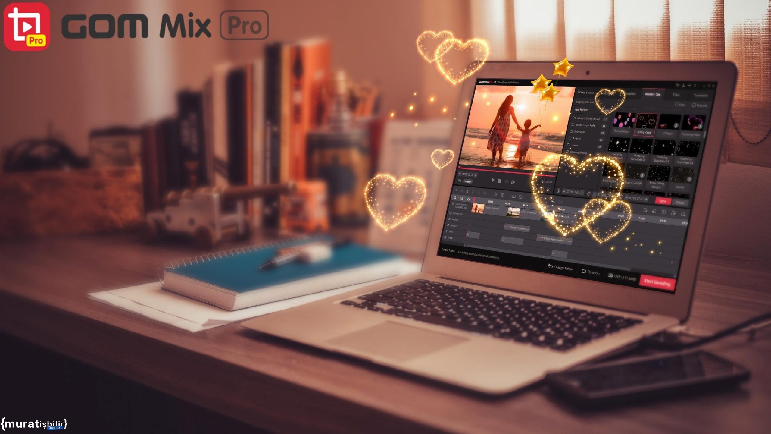 Basit Arayüzlü Video Düzenleme Yazılımı: GOM Mix Pro