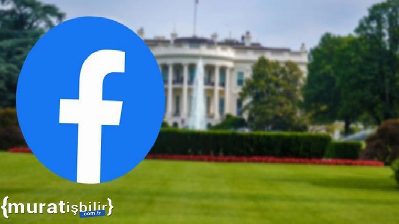 Beyaz Saray'dan Facebook Kesintisi Hakkında Açıklama