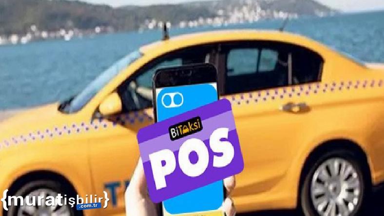 BiTaksiPOS'la Sürücülerin Telefonu POS Görevi Görecek
