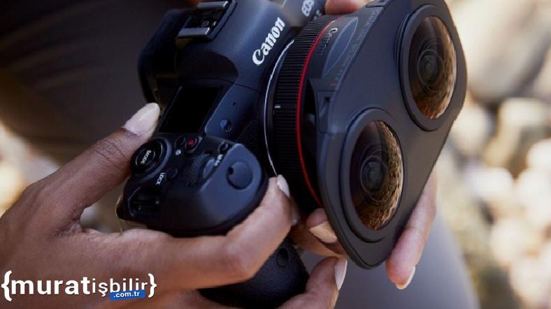 Canon, Çift Objektifli Yeni Lensini Duyurdu
