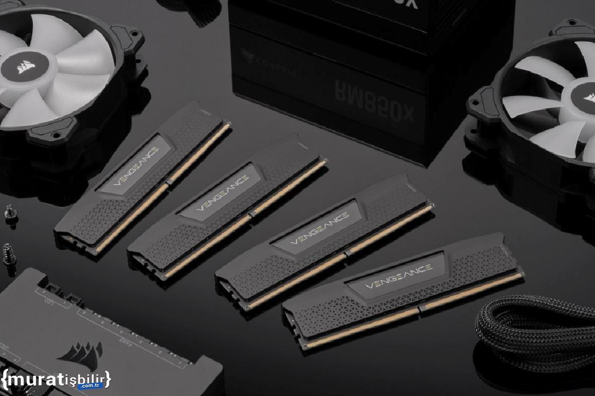CORSAIR, Vengeance DDR5 RAM Kitlerini Sergiledi