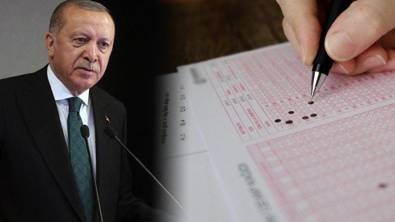 """Erdoğan'dan """"Üniversite Sınavı Kalkıyor"""" Dedirten Açıklama"""