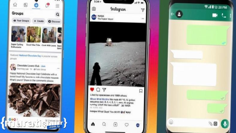 Facebook, Instagram ve WhatsApp Kendine Gelmeye Başladı