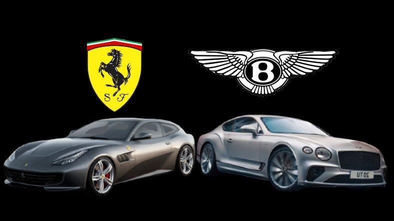 Ferrari GTC4Lusso, Bentley Continental GT'ye Karşı