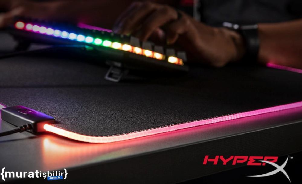 HyperX Pulsefire Mat RGB Mouse Pad Satışa Sunuldu