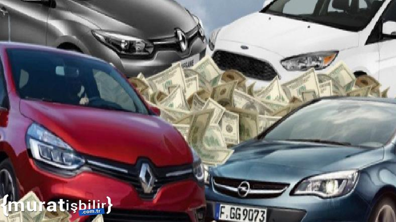İkinci Elde En Çok Satılan Otomobil Markaları Açıklandı