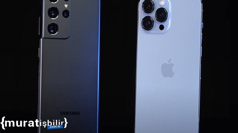 iPhone 13 Pro Max ve Samsung Galaxy S21 Ultra  Hız Testi