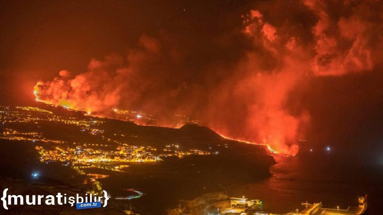 Kanarya Adaları'ndaki Yanardağ Patlaması Devam Ediyor