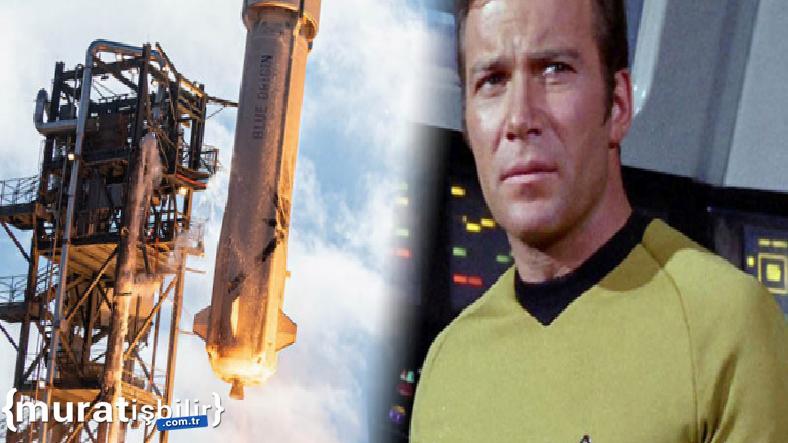 """""""Kaptan Kirk"""", Gerçekten Uzaya Gidecek"""