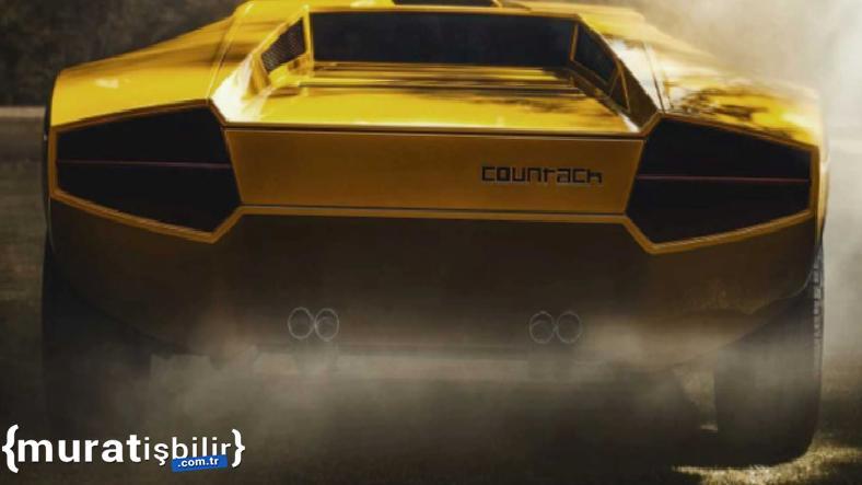 Lamborghini, 1971 Countach'ın İlk Prototipini Restore Etti