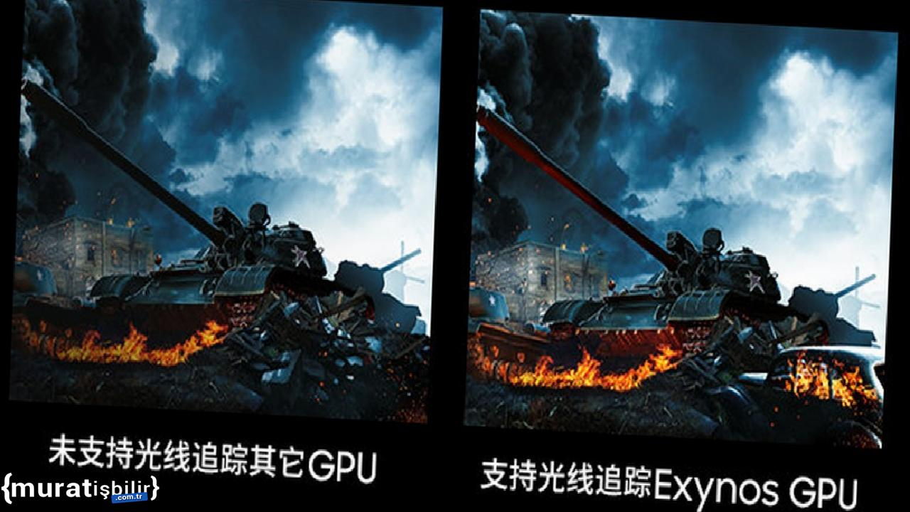 Samsung Exynos 2200, Mobile Işın İzleme Getirecek