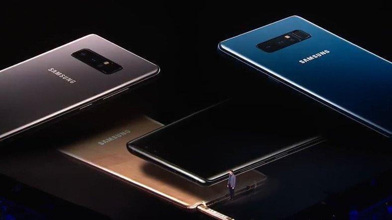 Samsung Galaxy Note 8 Emekli Oldu