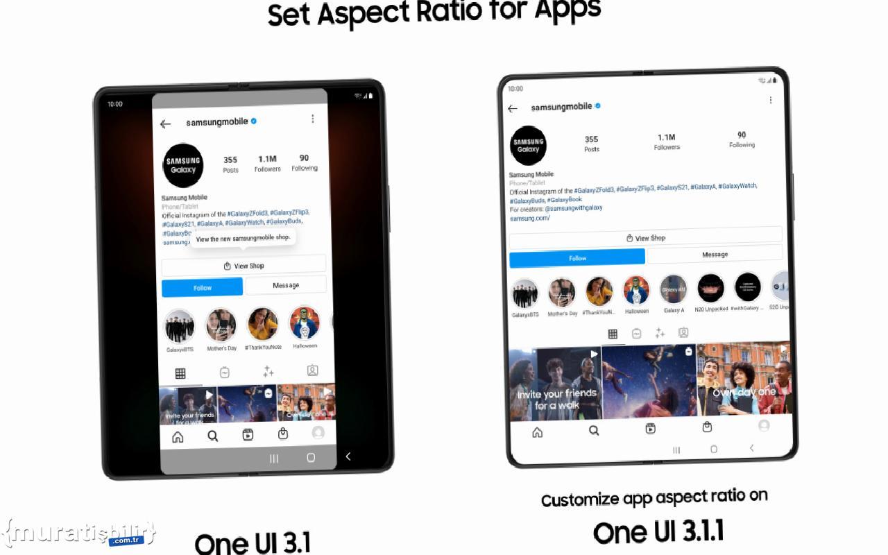 Samsung, One UI 3.1.1 ile Galaxy Z Serisi Kullanıcılarına Yepyeni Deneyimler Sunuyor