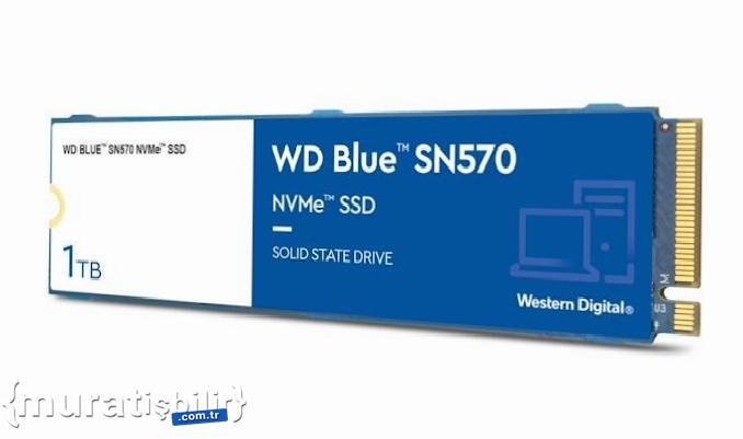 Western Digital, Blue SN570 SSD Serisini Duyurdu
