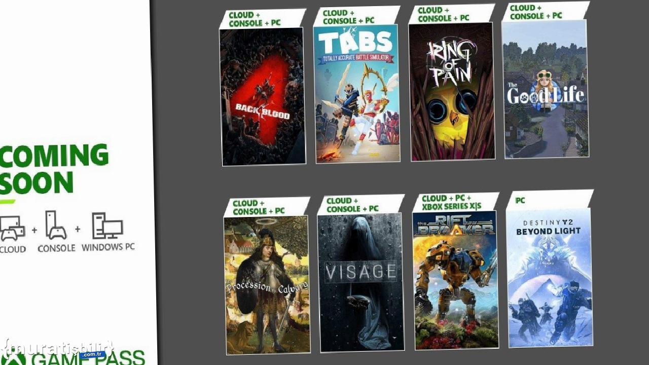 Xbox Game Pass Ekim 2021 İlk Dalga Oyunları Açıklandı